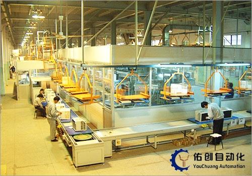 微波炉生产线